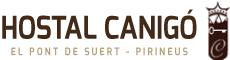 Hostal Canigó – El Pont de Suert – Pirineos de Lleida Logo